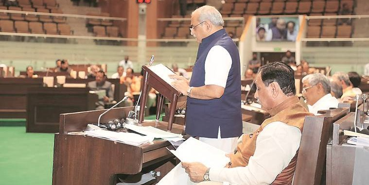 Gujarat: Water management gets lion's share in Nitin Patel's Rs 2 lakh crore Budget