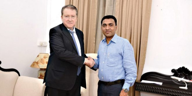 Russia, Goa explore possibilities for business ties