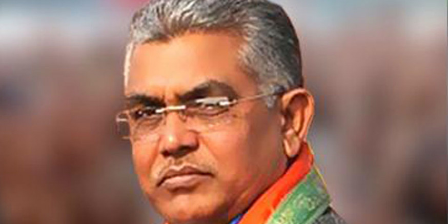 Political Survival of Congress and Gandhi Family is Questionable, Says BJP MP Dilip Ghosh