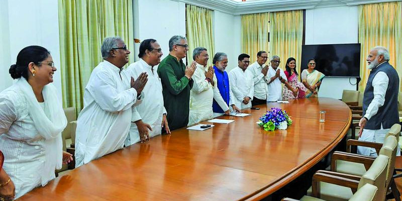 TMC leaders meet PM Modi, request name change for West Bengal