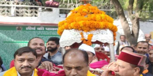 श्रीरेणुका जी मेले में बोले सीएम, पच्छाद की जनता ने उपचुनाव में कड़ी परीक्षा ली; यह घोषणा की