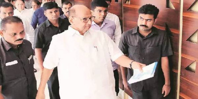 Maharashtra: Sharad Pawar meets CM, seeks more relief for flood-affected areas