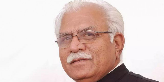 Swearing-In ceremony for Khattar govt. at 2pm Tomorrow