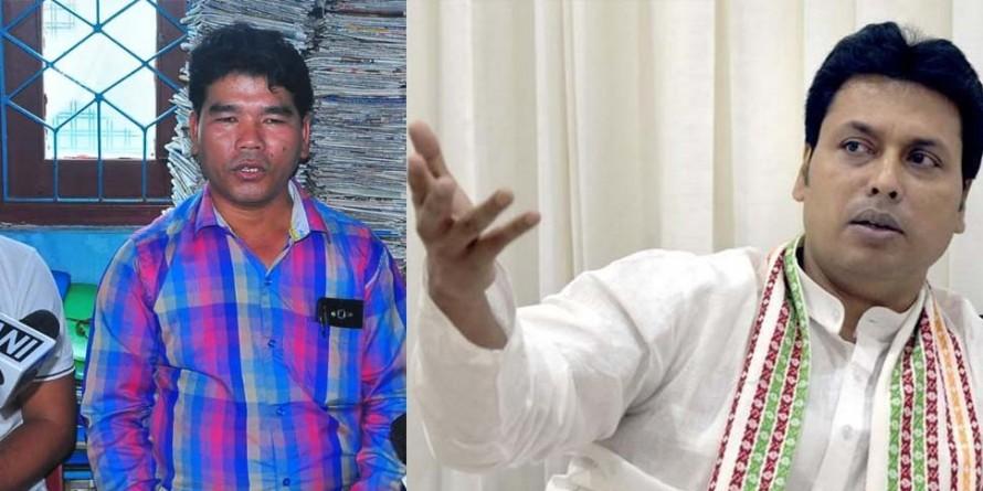 बीजेपी की त्रिपुरा सरकार पर संकट के बादल, गठबंधन दल ने दी साथ छोड़ने की धमकी