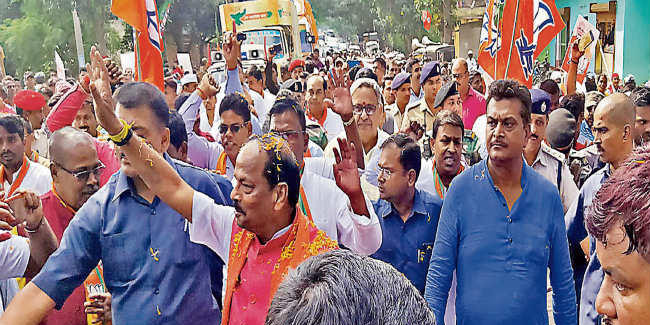 झारखंड में गठबंधन की राजनीति ने भ्रष्टाचार को बढ़ावा दिया है : रघुवर