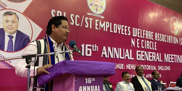 Meghalaya CM urges banks to ensure adequate manpower in rural branches