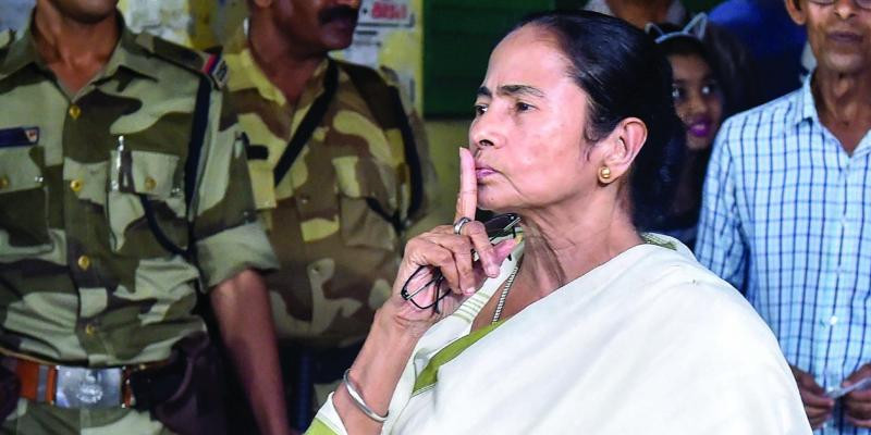 Despite party MP criticism, Mamata Banerjee mum on Article 370 move