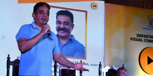 Hindi a little child compared to Tamil: Kamal