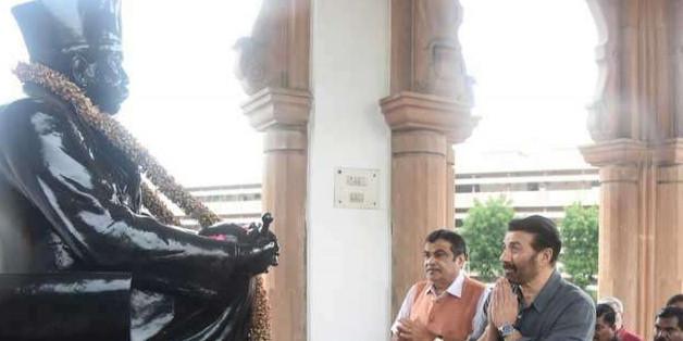 नितिन गडकरी के साथ RSS मुख्यालय पहुंचे सनी देओल, कहा- हिंदुस्तान जिंदाबाद था और रहेगा