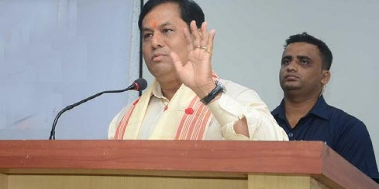 Assam chief minister reviews four-lane of the national highway in Sonitpur