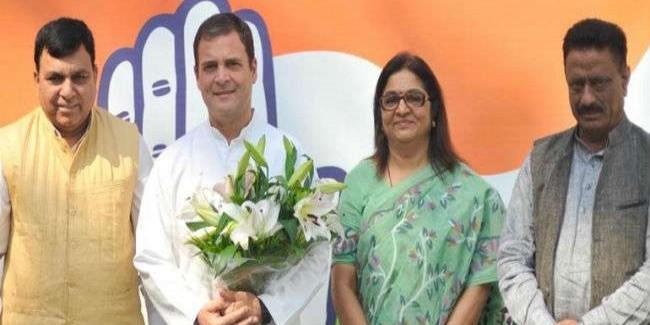 तीन बार सांसद रहे भाजपा नेता सुरेश चंदेल कांग्रेस में शामिल