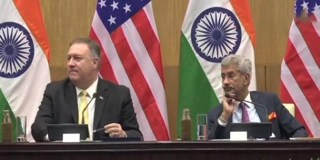 व्यापार पर मतभेद अपनी जगह-रिश्ते अपनी जगह, बोले अमेरिकी विदेश मंत्री पोम्पियो