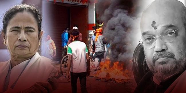 पश्चिम बंगाल में चुनाव प्रचार पर रोक, आयोग पहुंचा BJP का प्रतिनिधिमंडल
