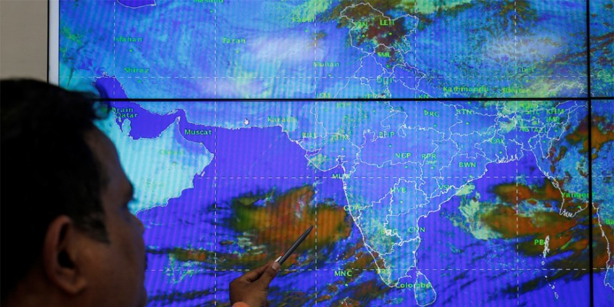 Cyclone Vayu 'remains practically stationary', says IMD