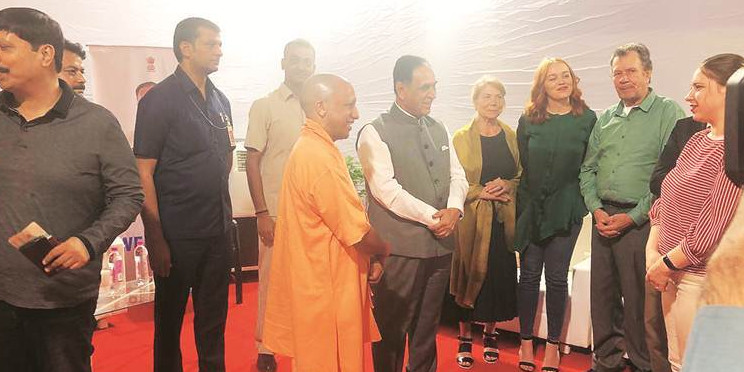 Gujarat CM Rupani leaves for three-day tour of Russia