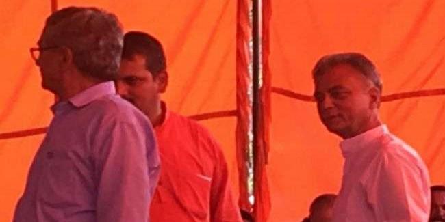 सीएम का स्वागत करने सेरी मंच पर पहुंचे अनिल शर्मा, नहीं मिली बैठने के लिए जगह; घर लौटे