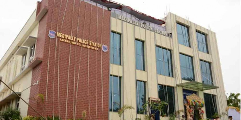 Home Minister Mohammed Mahmood Ali inaugurated the Medipally Police Station Building