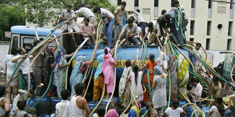 Chennai's growth threatened by water shortages