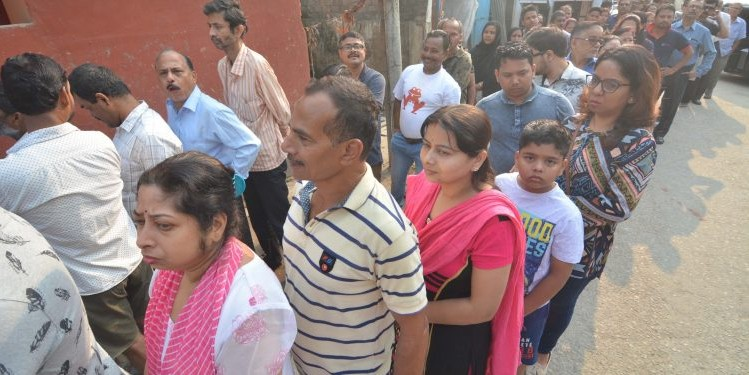 Assam registers highest voter turnout in country in third phase LS polls