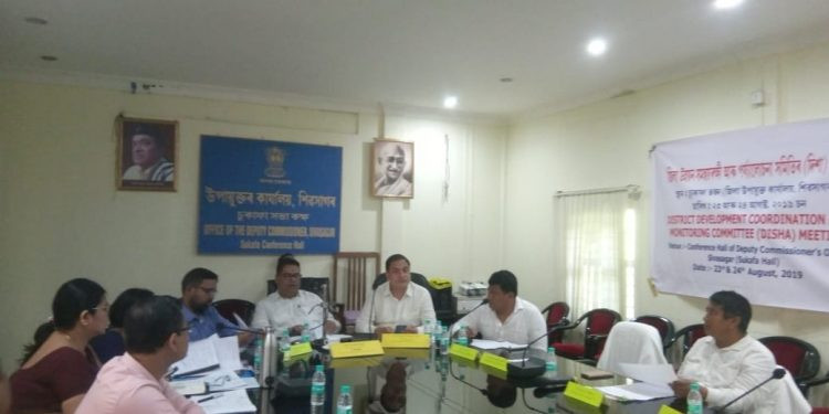 Assam: DISHA meeting concludes in Sivasagar; MP reviews schemes