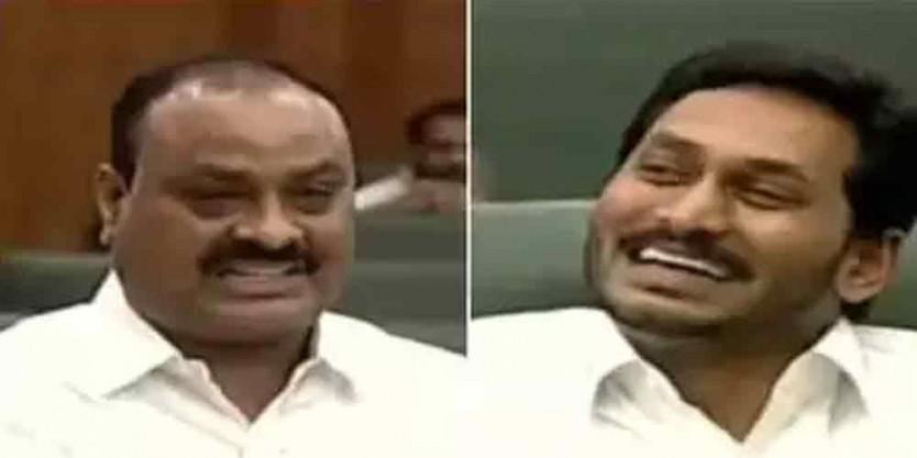 TDP MLA Achennayudu slams CM YS Jagan in AP Assembly