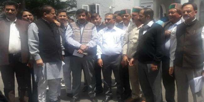 पी चिदंबरम की गिरफ्तारी पर कांग्रेस का हिमाचल विधानसभा में हंगामा, किया वाकआउट