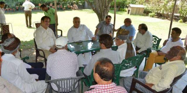 दिल्ली से खाली हाथ लौटे केपी, आजाद चुनाव लड़ने की कर सकते हैं घोषणा