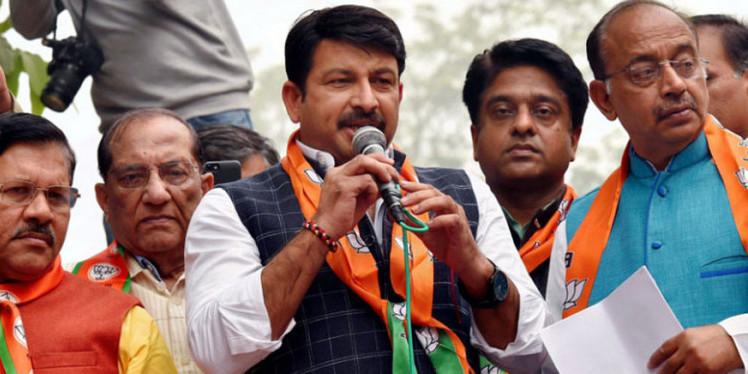 बीजेपी नेता मनोज तिवारी ने अरविंद केजरीवाल पर कसा तंज, वायरल हुए विडियो पर उठाए सवाल
