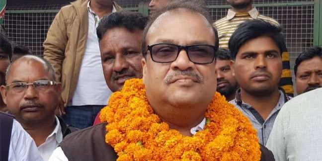 झारखंड चुनाव 2019: कोडरमा में राजद के दूसरे उम्मीदवार अमिताभ चौधरी का नामांकन स्वीकृत
