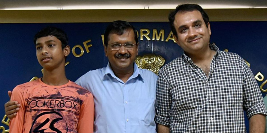 Delhi family to fund the IIT boy's education : Arvind Kejriwal