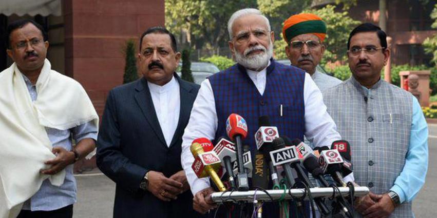 इस सत्र के दौरान सरकार हर विषय पर चर्चा के लिए तैयार है: प्रधानमंत्री मोदी