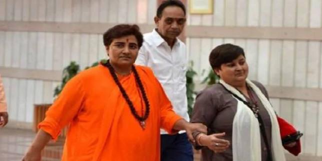 भोपाल नगर निगम बँटवारा जनता और प्रजातंत्र के खिलाफ - प्रज्ञा सिंह ठाकुर