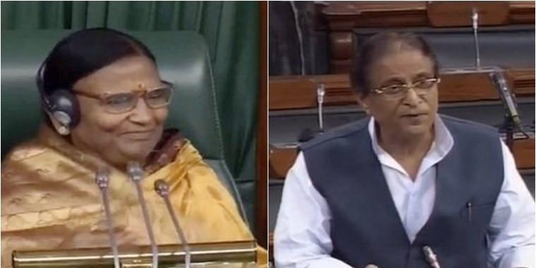 सांसद रमा देवी पर टिप्पणी मामले में बिहार महिला आयोग सांसद आजम खान को भेजेगा नोटिस