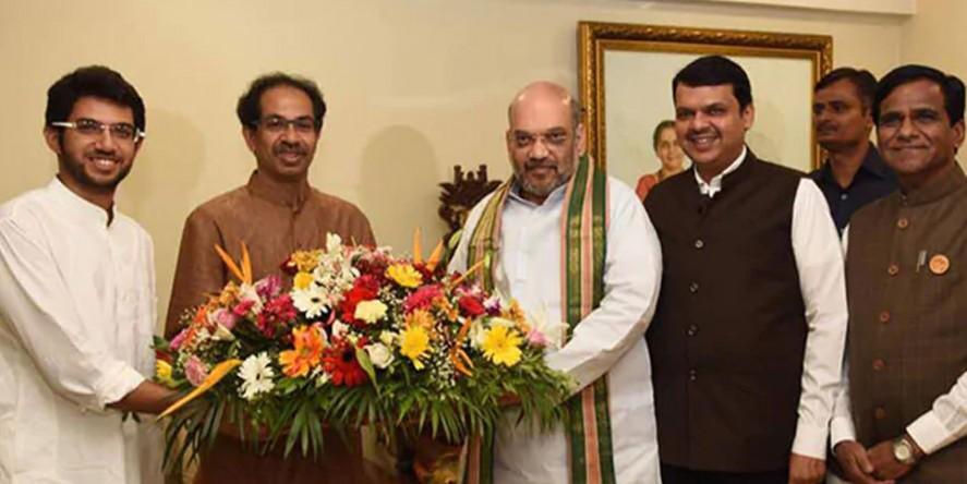 महाराष्ट्र फतह के मिशन पर BJP-शिवसेना, बैकफुट पर कांग्रेस-NCP