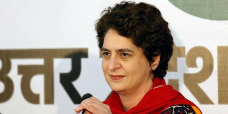 प्रियंका गांधी ने शेयर किया महिला हॉकी टीम का जश्न, बोलीं- चक दे इंडिया