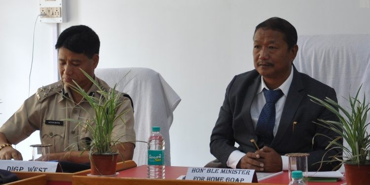 Arunachal home minister seeks comprehensive plans for fighting crime