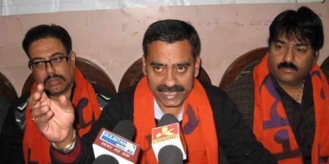 Sri Ram Sena Jammu and Kashmir president joins NC