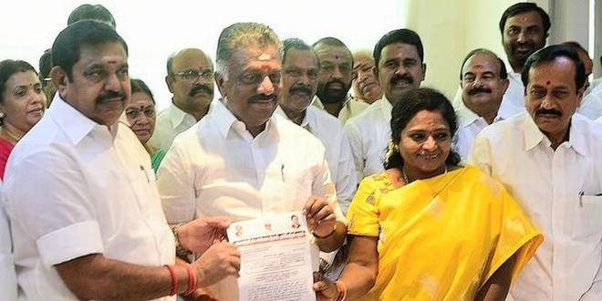 AIADMK to Declare Names of Candidates for By-Elections