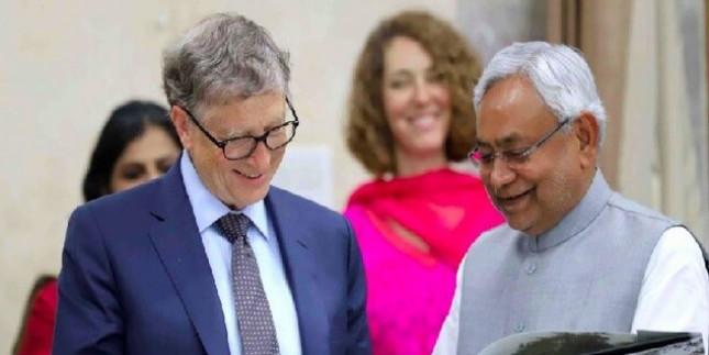 बिल गेट्स और नीतीश कुमार की मुलाकात, स्वास्थ्य क्षेत्र में संरचनात्मक सुधारों को प्राथमिकता देने पर जोर
