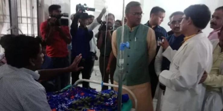 डेंगू पर मुख्यमंत्री त्रिवेंद्र सिंह रावत ने दी कांग्रेस को प्रतिक्रिया