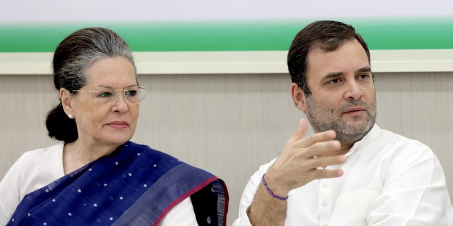 Maharashtra Congress leaders meet Sonia