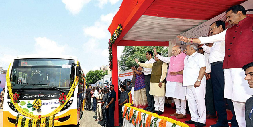First gear: Ahmedabad Municipal Corporation's e-buses on the run