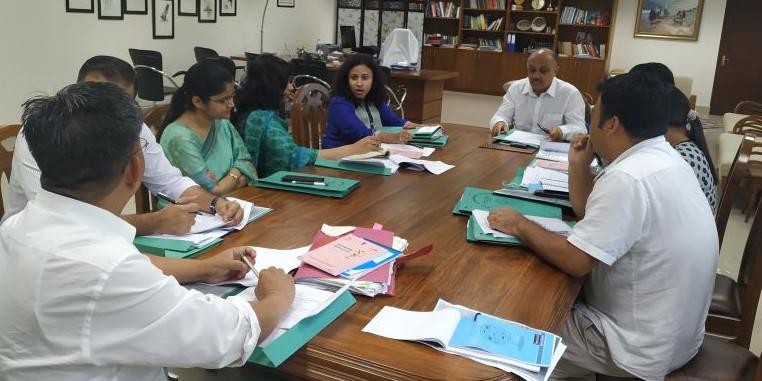 Arunachal Pradesh CS Naresh Kumar Reviews Poshan Maah