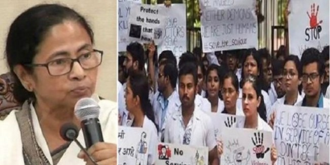 पश्चिम बंगाल: डॉक्टरों ने खत्म की हड़ताल, ममता बनर्जी ने दिया नए सुरक्षा उपायों का आश्वासन