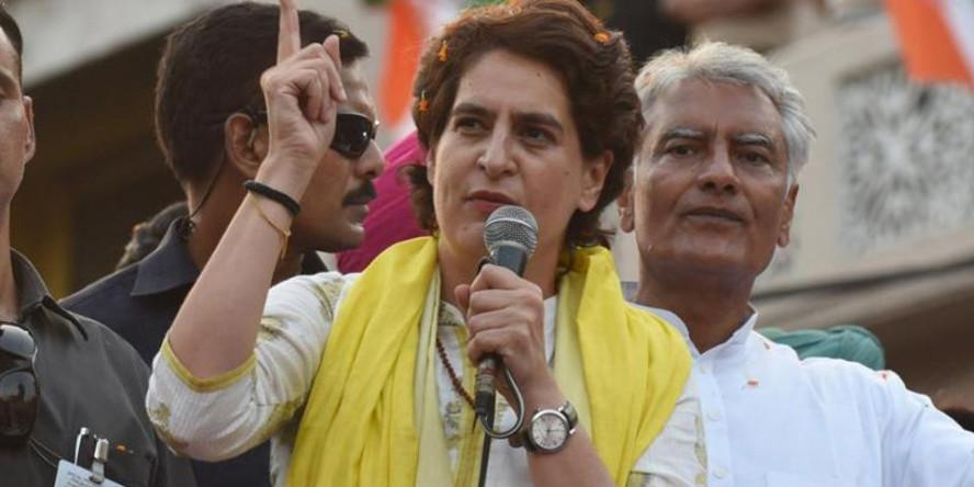 On Karnataka govt fall, Priyanka Gandhi's sharp message toBJP