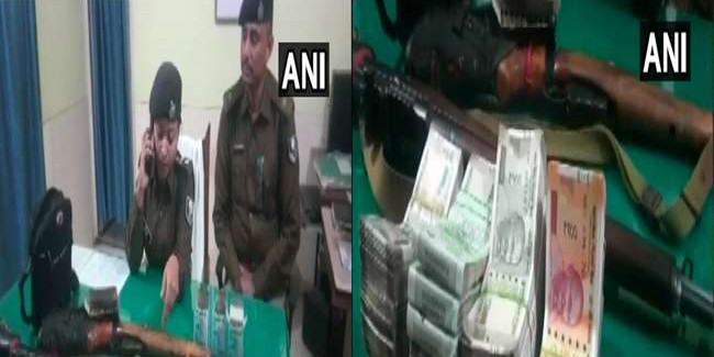 बाहुबली MLA अनंत सिंह के सहयोगी के घर से हथियार और कैश बरामद, धमकी देने का आरोप