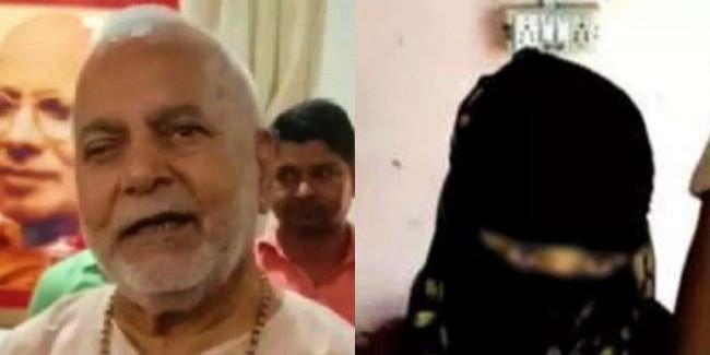 चिन्मयानंद पर रेप का आरोप लगाने वाली छात्रा गिरफ्तार