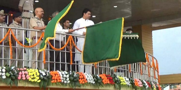Biplab Deb flags off Beat Patrolling unit of Tripura Police