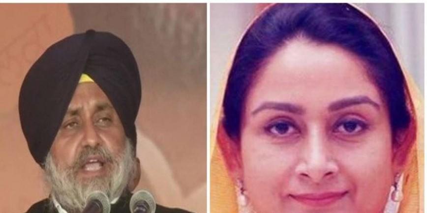 Sukhbir Singh Badal, Harsimrat Kaur slam Pitroda's remark on anti-Sikh riots