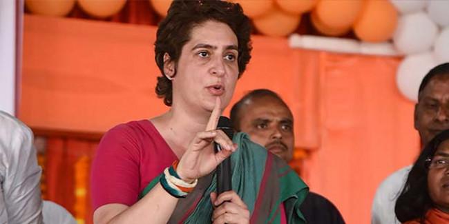 कांग्रेस अध्यक्ष बनने के सवाल पर प्रियंका गांधी ने कहा, 'मेरा नाम भी मत लीजिए'